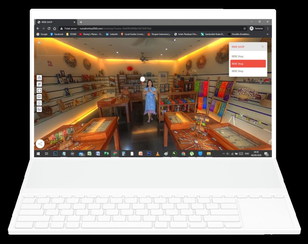 Virtual Rere Shop