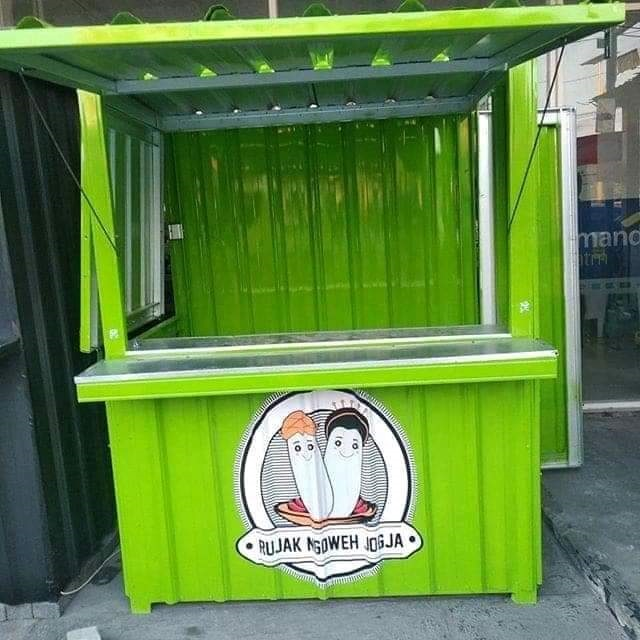 Booth Semi Container Bali