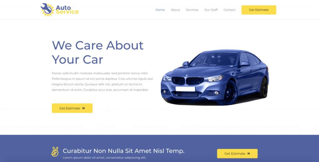 jasa website murah bali Dealer Mobil