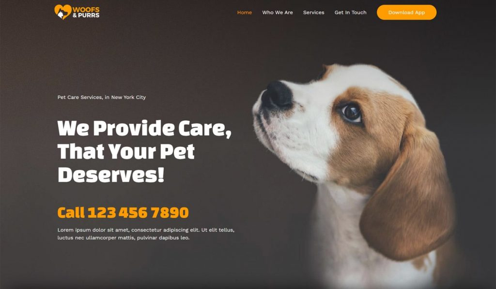 jasa website murah bali Web Toko Makanan Anjing