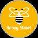 Honey Street Logo Round Kn