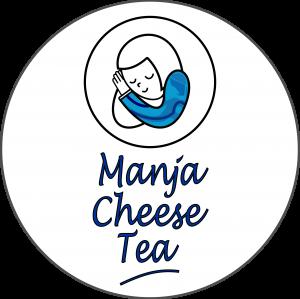 Manja Cheese Tea Logo